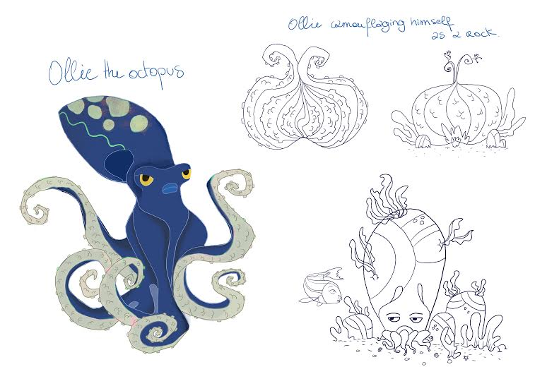 Ollie Octopus Model Sheet 021715